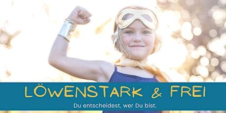 Löwenstark & Frei | Resilienz und Selbstbehauptung für starke Kids (6-10J) Tickets