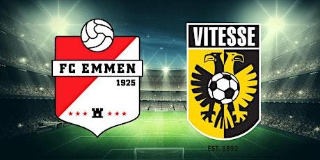 K.I.J.K@!. Emmen v Vitesse LIVE OP TV 2021 tickets