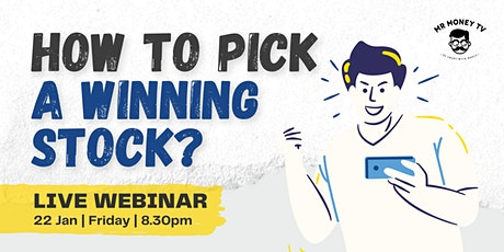 How to pick  a WINNING stock? | Logic Stock Investing Webinar tickets