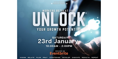 Virtual Workers Retreat 2021 | Unlock Your Growth Potential tickets