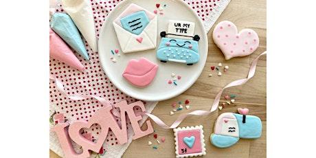 Valentine's2 Adult Beginner Cookie Decorating Class tickets