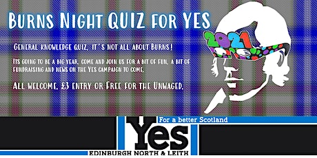 Burns Night Quiz for Yes tickets