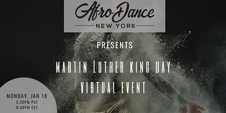 AfroDance New York presents MLK Day Virtual Event tickets