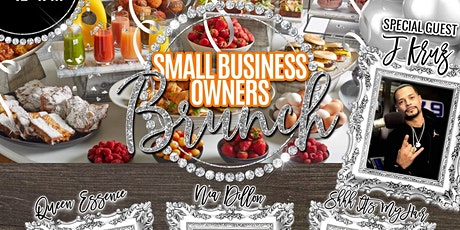Small business owners brunch tickets