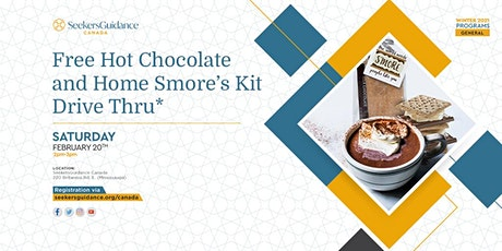 Free Hot Chocolate and Home Smore's Kit Drive Thru* tickets