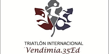 TRIATLON INTERNACIONAL VENDIMIA 35°Ed- COPA NACIONAL- Copa Ciudad  Mendoza entradas