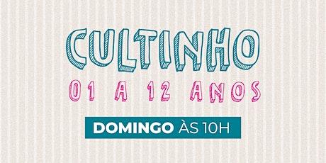 Cultinho Presencial DOMINGO MANHÃ - Bola de Neve Campinas ingressos