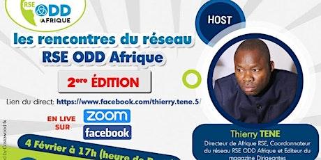Deuxième édition des Rencontres du Réseau RSE ODD Afrique billets