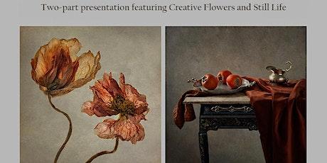 Polina Plotnikova presents 'Flower Portraits and 'Still Life' tickets