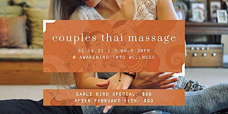 Date Night: Thai Massage For Partners tickets