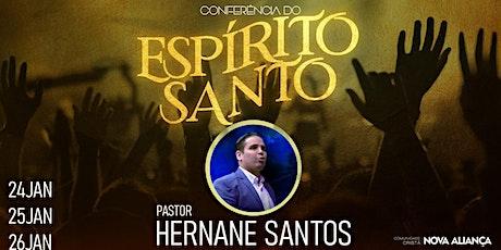 Conferência do Espírito Santo  24,25 e 26/01 ingressos