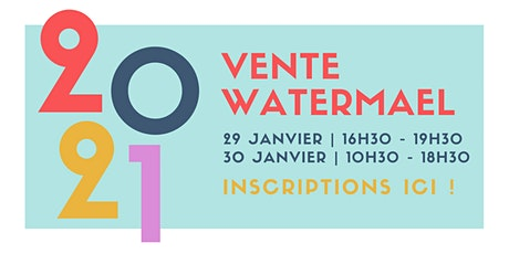 Vente à Watermael Boitsfort tickets