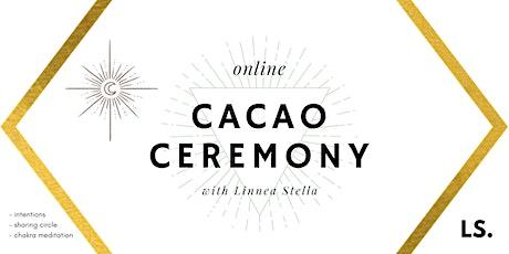 Cacao Ceremony & Chakra Meditation tickets