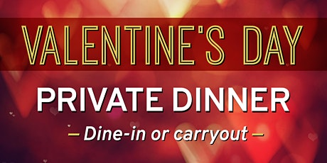 Valentine's Day Private Dinner tickets