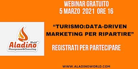 Turismo: Data-Driven Marketing per ripartire biglietti