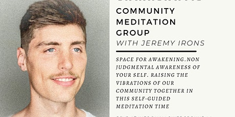 S.A.N.J.A.Y.S.| Community Meditation Group tickets