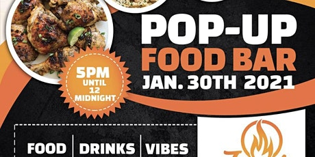 Jay's Pop-Up Food Bar tickets