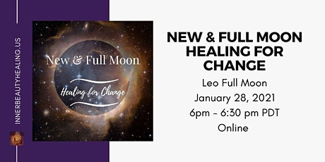 Jan 28 - Full Moon Meditation: Healing for Change tickets