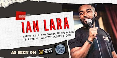 Ian Lara (Tonight Show with Jimmy Fallon, Comedy Central) at The Biergarten tickets