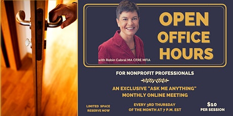 Open Office Hours with Robin tickets