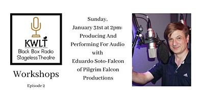 Producing and Performing for Audio with Eduardo Soto-Falcon