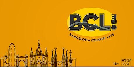 Barcelona Comedy Live • pro comedians • new material entradas