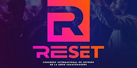 """Congreso Internacional de Jóvenes """"Reset"""" entradas"""