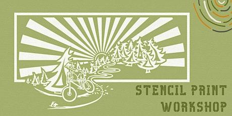 Stencil Print Workshop tickets
