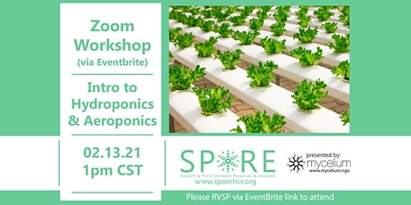 Introduction to Hydroponics and Aeroponics tickets
