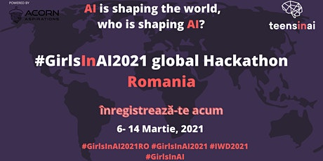 #GirlsInAI2021 Hackathon – Romania tickets