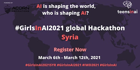#GirlsInAI2021 Hackathon – Syria tickets