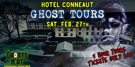 Hotel Conneaut Ghost Tours | Saturday February 27th 2021 tickets