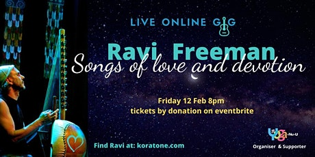 Ravi Freeman - songs of love and devotion on the kora and guitar tickets