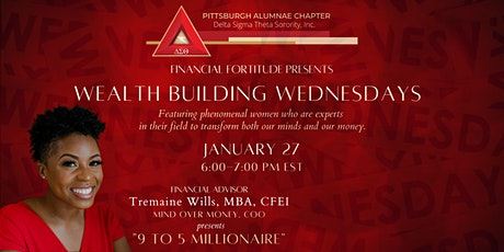 Wealth Building Wednesdays - 9 to 5 Millionaire tickets