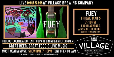 FUEY - The Brett Fuentes Band @Village Brewing Company! tickets