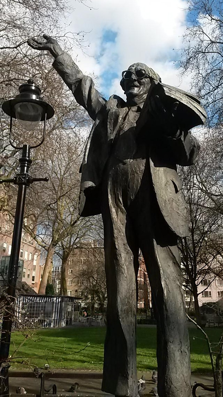 Statues with Props (or big hair or glasses) - A London Walks virtual tour image