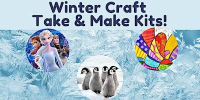 Take & Make Winter Crafts (Masks, Penguins & More!)