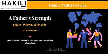 A Father's Strength tickets