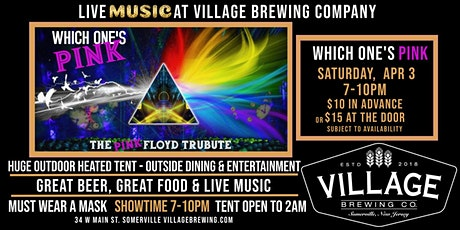 Which One's Pink - The Pink Floyd Tribute @Village Brewing Company! tickets