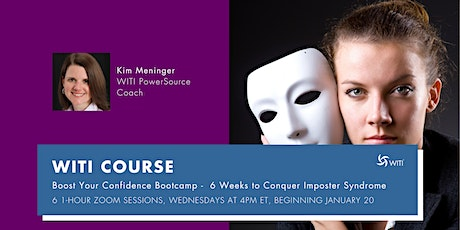 6 WEEKS TO CONQUER IMPOSTER SYNDROME WITH KIM MENINGER tickets