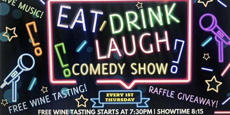 Eat Drink Laugh Comedy Show tickets