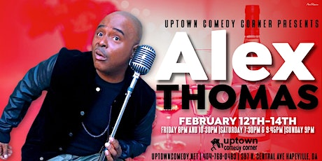 Alex Thomas Live for Valentines Weekend tickets