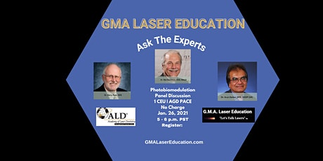 Dental CE Webinar - SERIES: Ask the Experts-  Photobiomodulation Benefits tickets