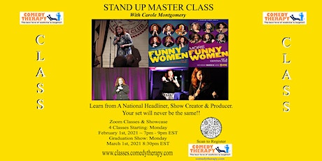 Stand-Up Master Class with Carole Montgomery tickets