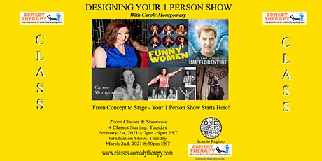 Designing your 1 Person Show with Carole Montgomery tickets