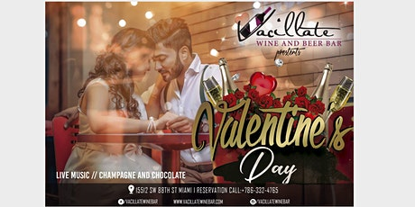 Valentines Day at Vacillate Wine Bar tickets