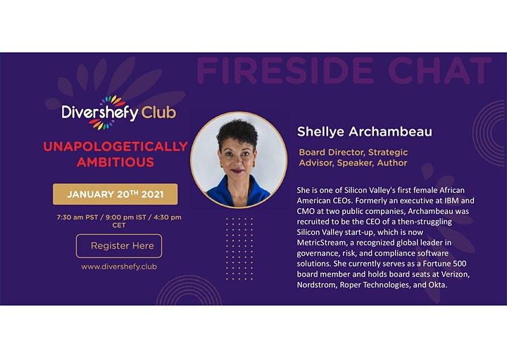 FIRESIDE Chat - Unapologetically ambitious image