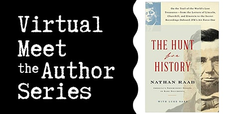 """Virtual Talk: """"The Hunt for History"""" with Nathan Raab tickets"""