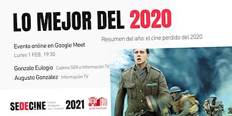 resumen del año: El cine perdido del 2020 entradas