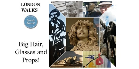 Statues with Props  - A London Walks virtual tour tickets
